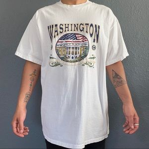 Vintage 1990s USA Washington DC T-Shirt Size XL